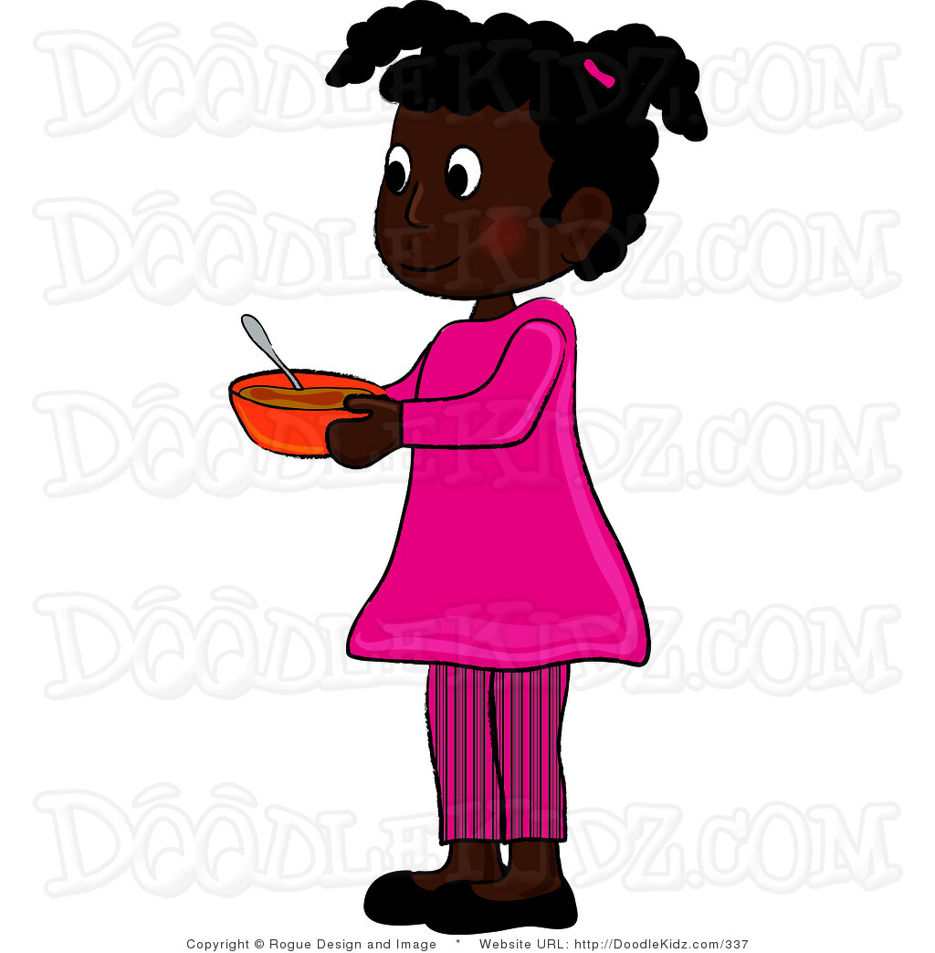 Clip Art African American Teenage Girls Clipart.