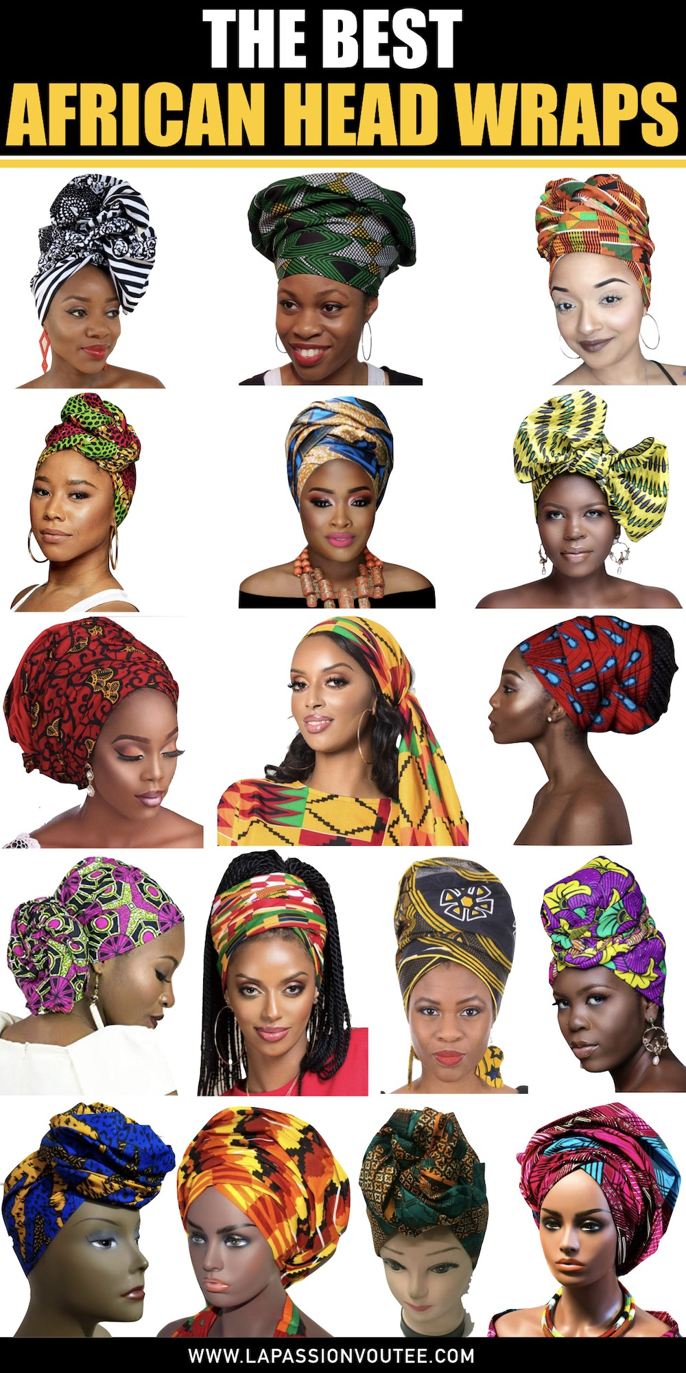 17 Best African Head Wraps In 2020 & Where to Get Ankara Scarves.