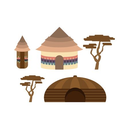 629 African Hut Stock Vector Illustration And Royalty Free African.