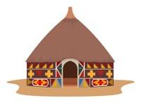 African hut africa clipart » Clipart Portal.