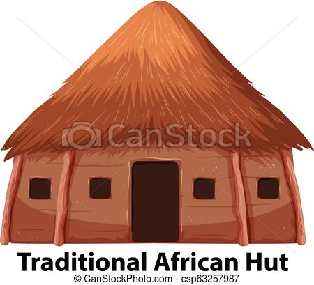 A traditional african hut.
