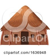 Royalty Free Hut Clip Art by Graphics RF.