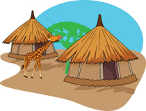 Search Results for mud hut.