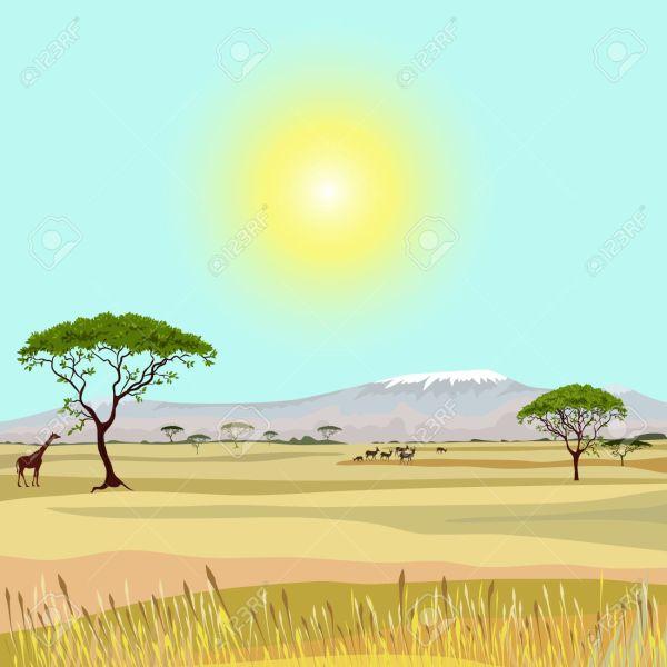 25+ Africa Landscape Clip Art Pictures and Ideas on Pro Landscape.