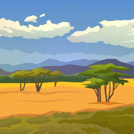 5,662 African Landscape Stock Illustrations, Cliparts And Royalty.