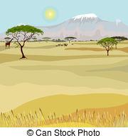 African landscape Clip Art Vector Graphics. 4,978 African landscape.