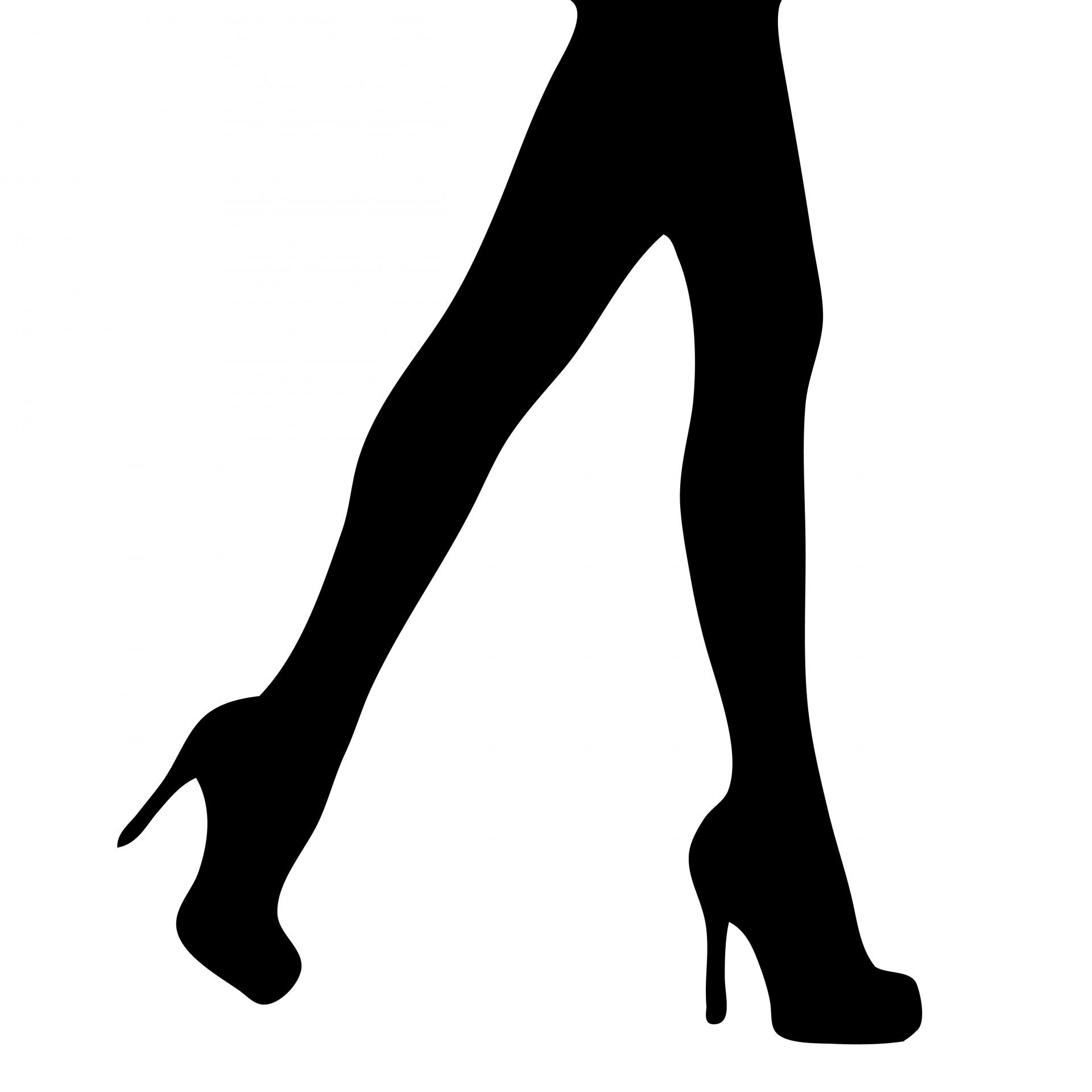 Leg Silhouette at GetDrawings.com.