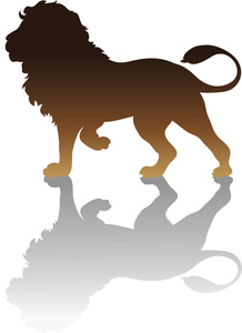 Free Lion Clip Art Image.
