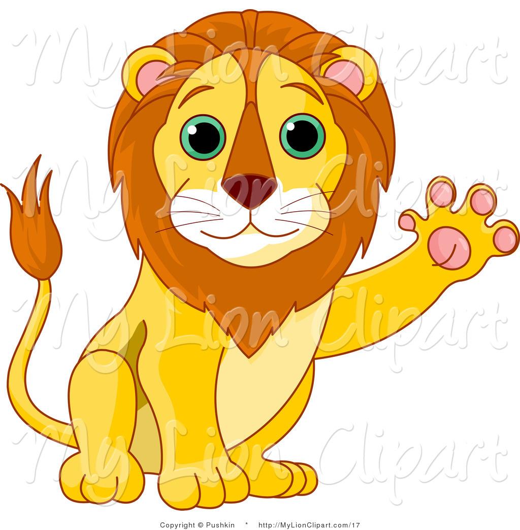 African lion head clipart.