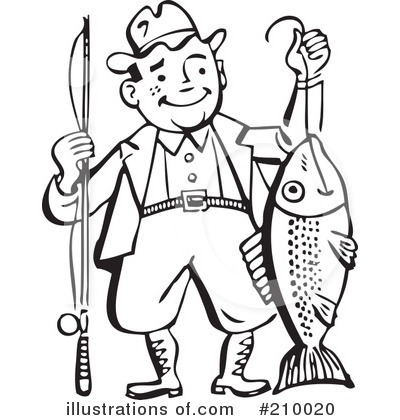 Fishing Clipart #210020.