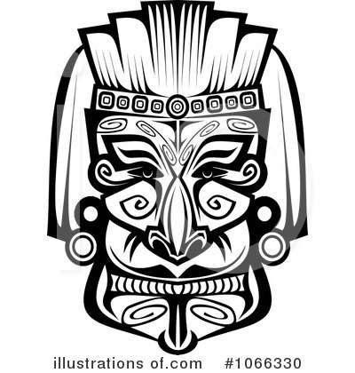 African Mask Clipart #1066330.