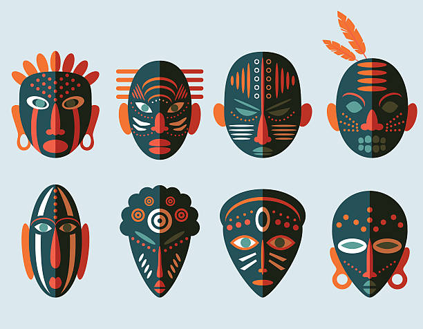 Top 60 African Mask Clip Art, Vector Graphics and Illustrations.