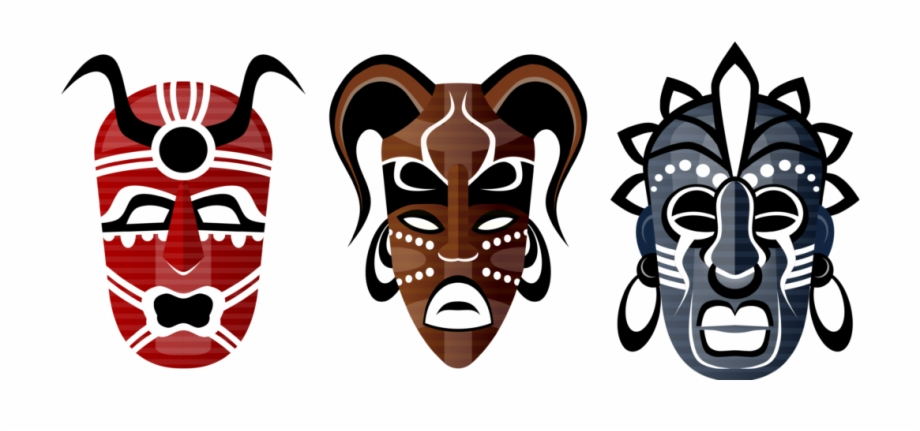 African Tribal Mask Clipart Free PNG Images & Clipart Download.