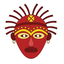 African Mask Africa Clipart » Clipart Station.