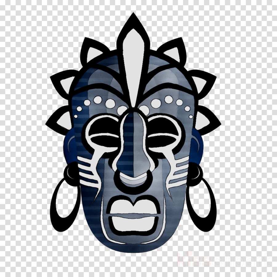 tribe african mask png clipart Traditional African masks.