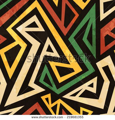 Traditional african tribal Free vector for free download.