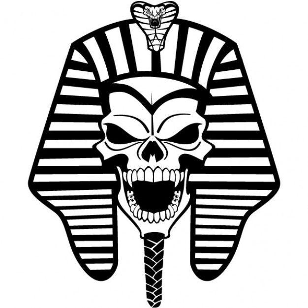 Egypt ancient Ancient Egypt pharaoh skull illustration about.