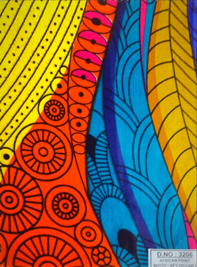 African Print 73206.