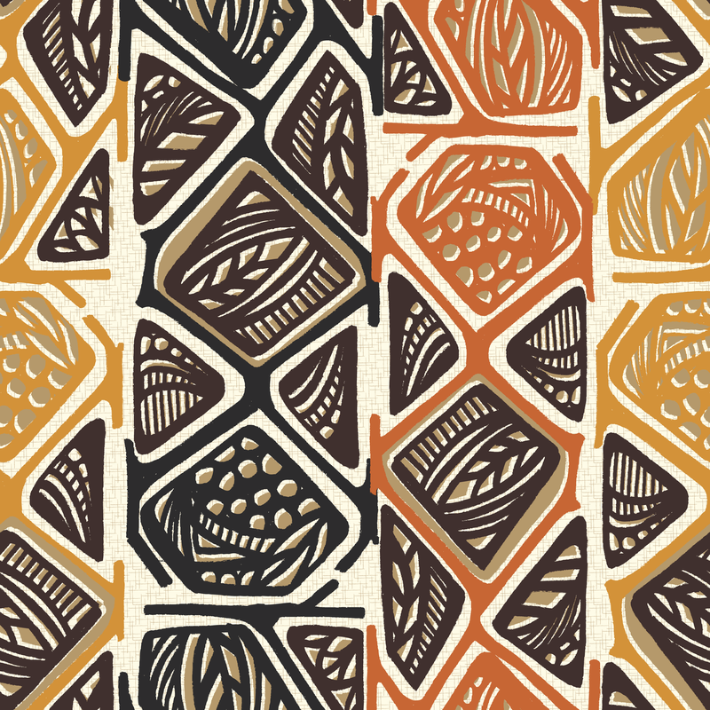 African Tribal Design1 by Pattern Addict.