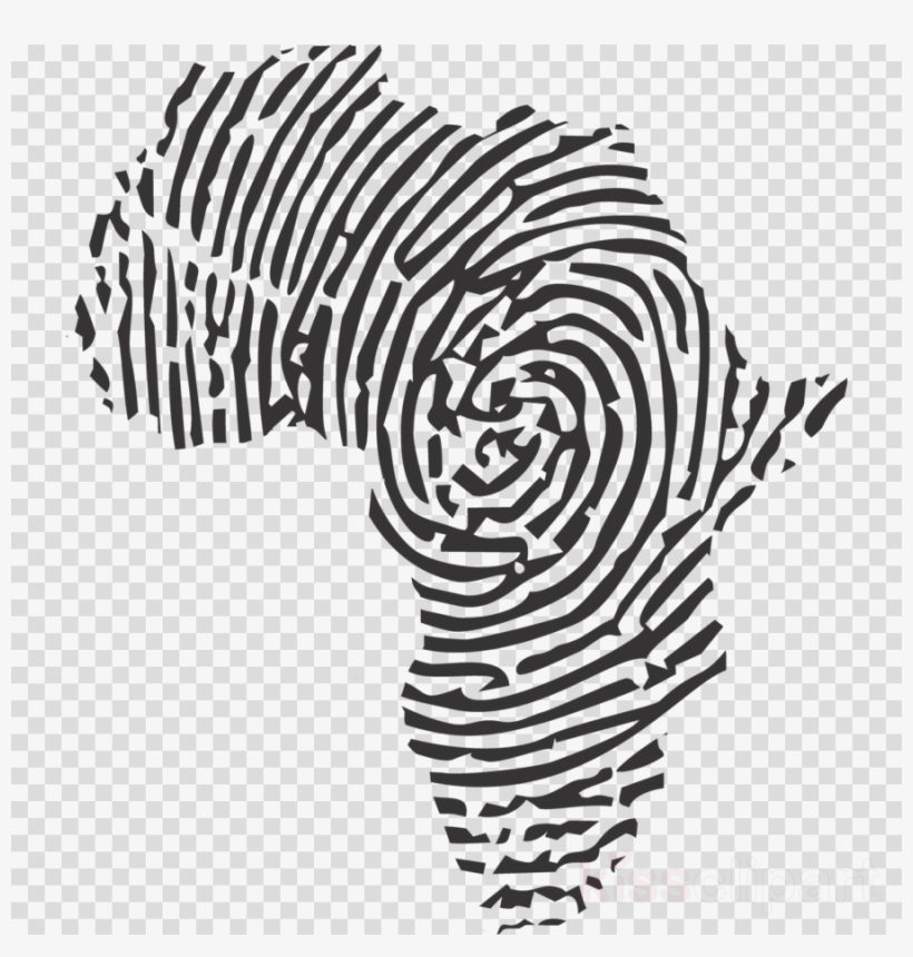 African Print Png Clipart Fingerprint Africa PNG Image.