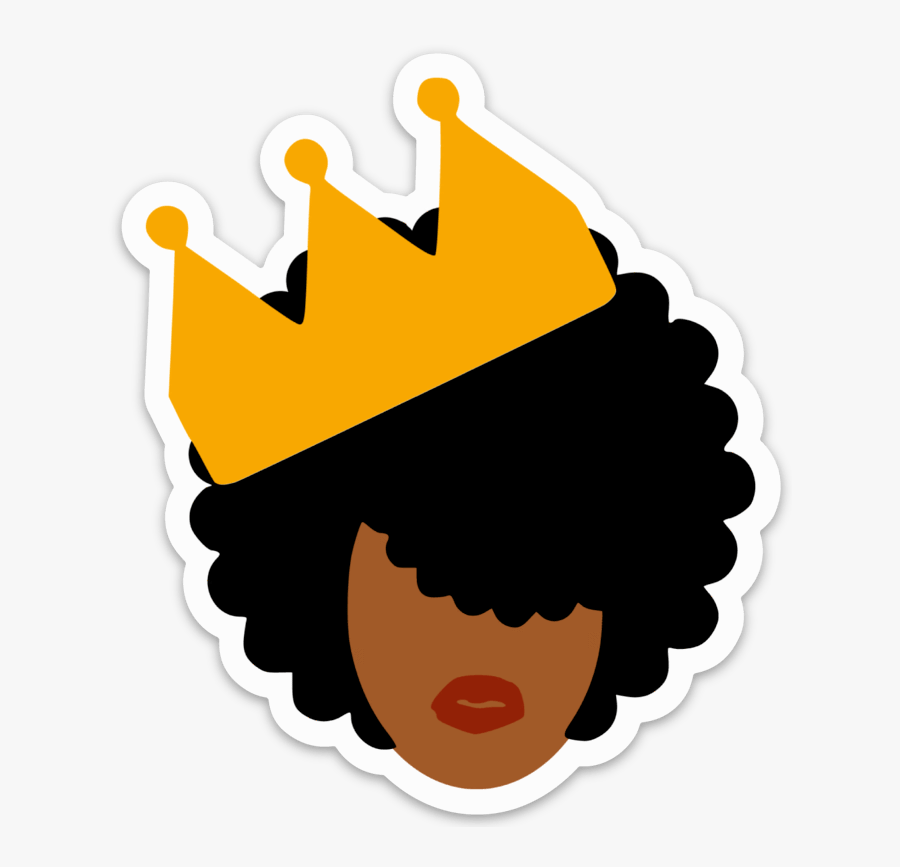 African Queen Decal Clipart , Png Download.