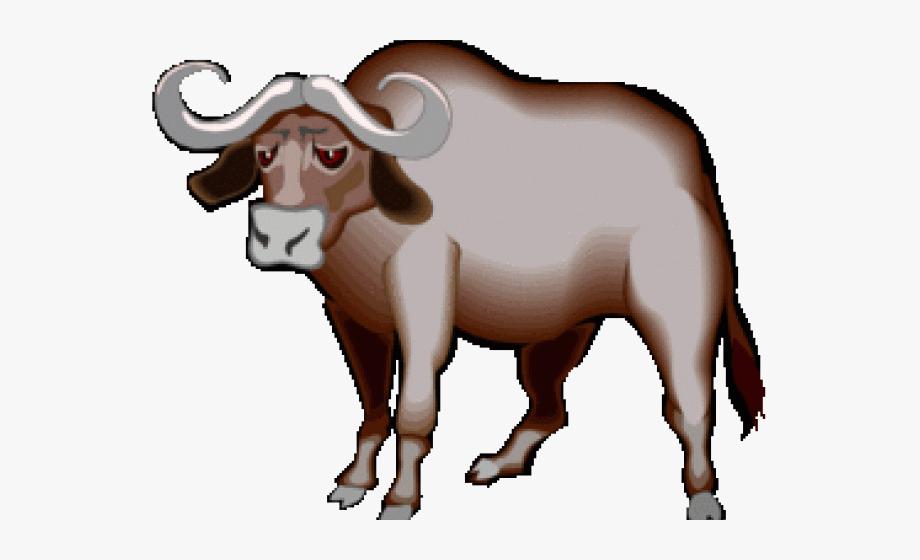 African Buffalo Clipart Cape Buffalo.
