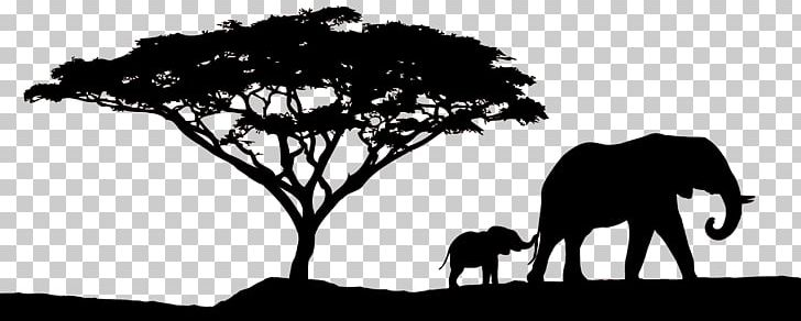 African Sunset Safari PNG, Clipart, African Elephant.
