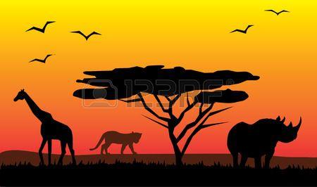 Kenya Safari Stock Vector Illustration And Royalty Free.