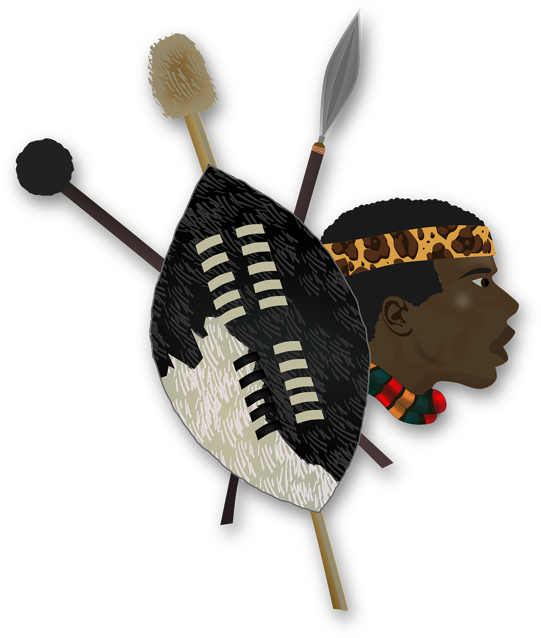 Folklore Shield Africa African Png Image.