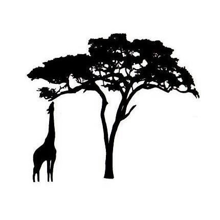 Free African Tree Silhouette Images, Download Free Clip Art.