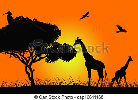 African sunset Illustrations and Stock Art. 1,896 African sunset.