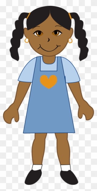 Free PNG African American Girl Clip Art Download.