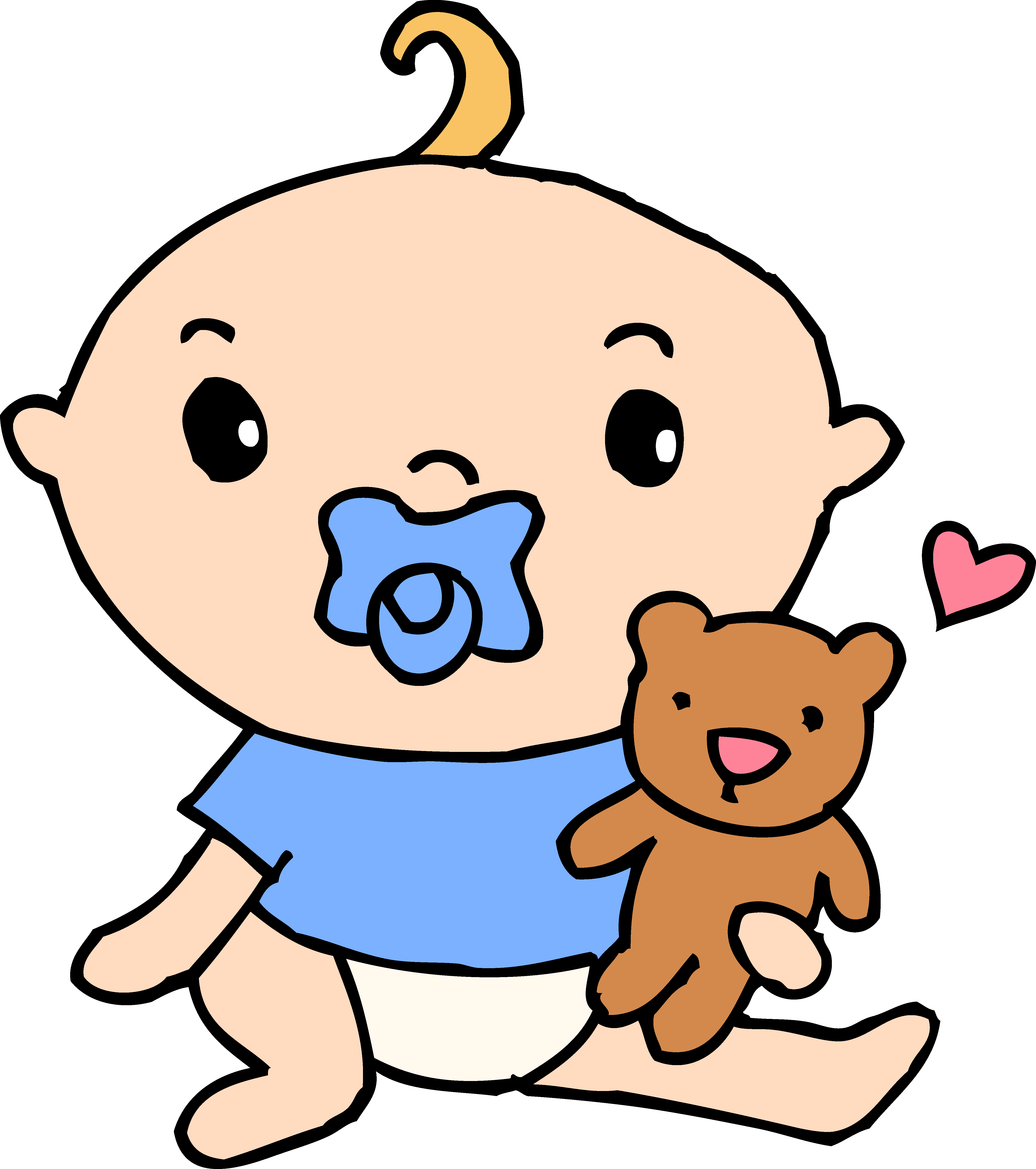 933 Pacifier free clipart.