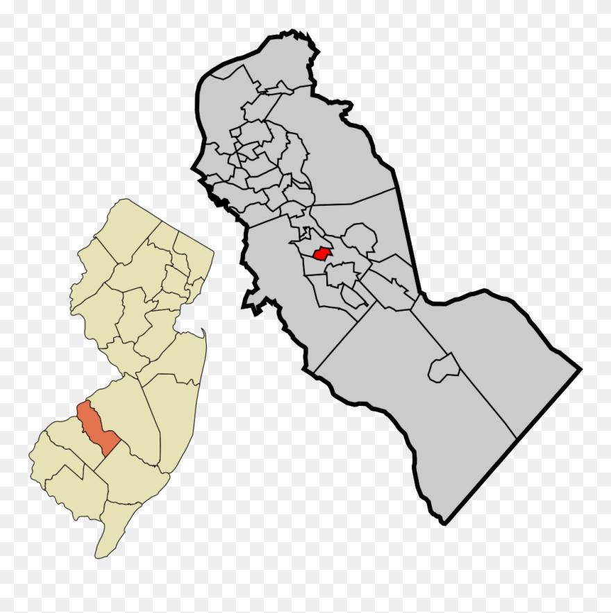 Haddon Township Nj Map Clipart (#2077164).