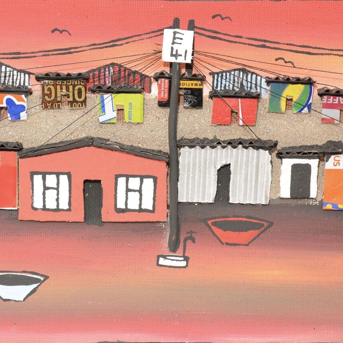 Pin on Township Art, SA.