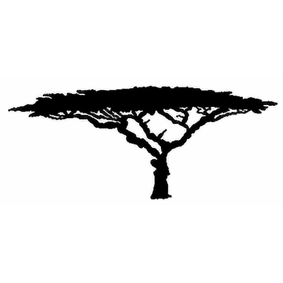 8038 Tree Silhouette free clipart.