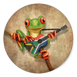 South African Tree Frog Gifts on Zazzle.