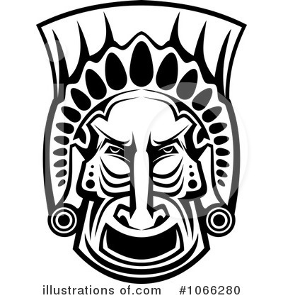 African Mask Clipart #1066280.