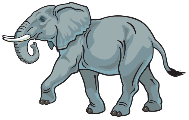 African Animals Clipart.