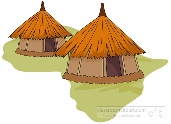 African clipart village, African village Transparent FREE.