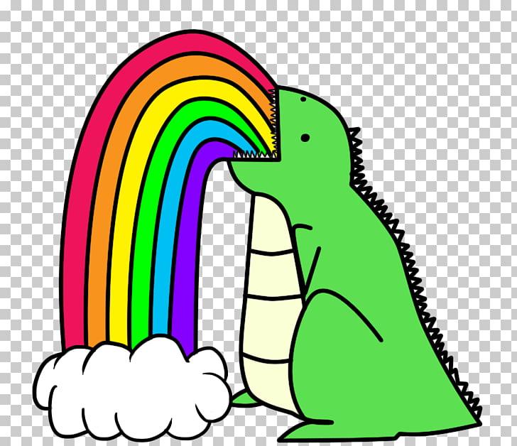 Vomiting Rainbow Dinosaur Color Nose, unicorn head PNG.