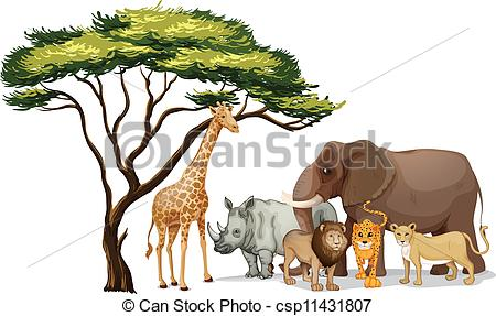 African animal clipart 4 » Clipart Station.