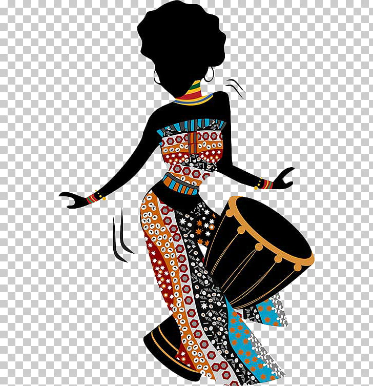 African art Painting African.