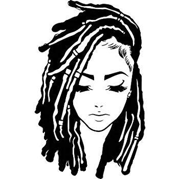 Amazon.com: EvelynDavid Black Woman Dreads Stylish Princess.