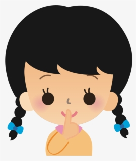 Free Shhh Clip Art with No Background.