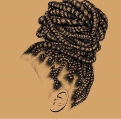 83 Best Afro Hair Clipart images.