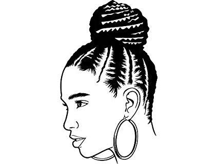 Amazon.com: EvelynDavid Black Woman Braid Hairstyle Stylish.