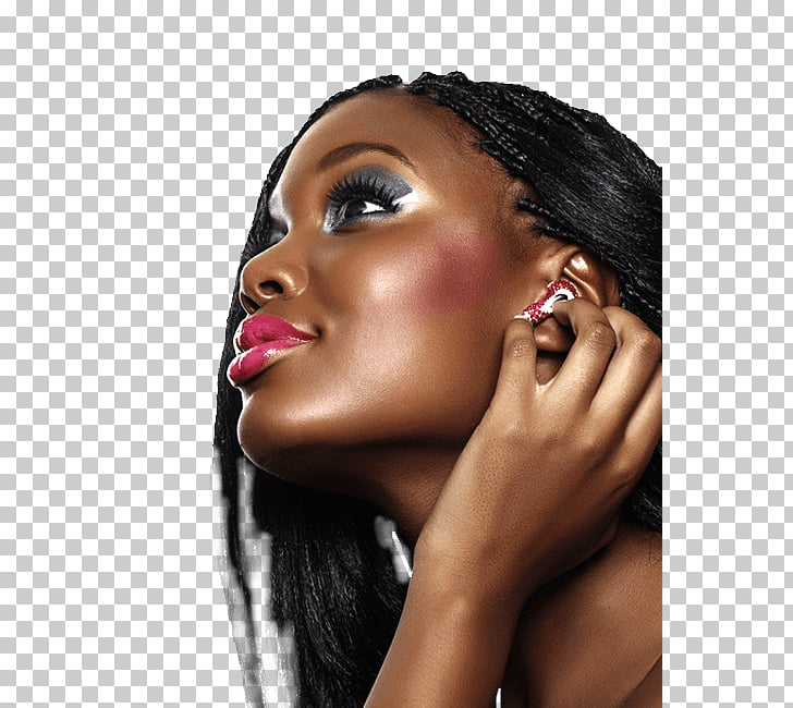 Hairstyle Afro Braid Pigtail Hairdresser, african woman PNG.