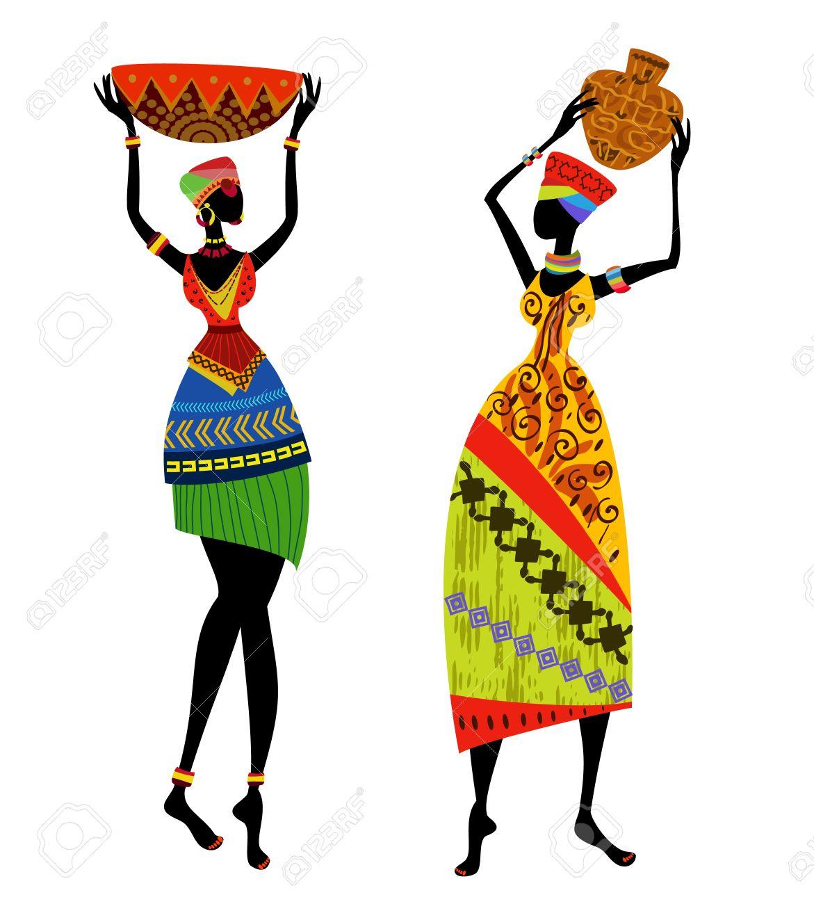 Africa Clipart African Art.