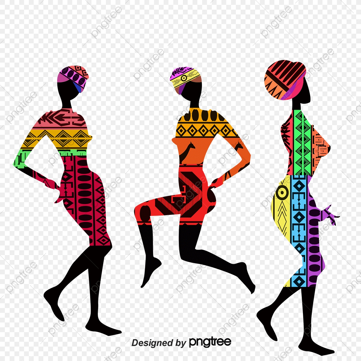 African Woman, Woman Clipart, Vector Woman PNG and Vector with.
